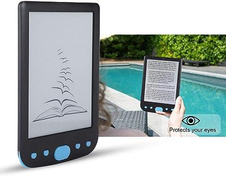 E-Reader,Portátil de 6 Pulgadas 8G USB2.0 Lector Libros ...