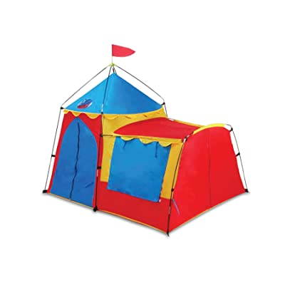 Giga The Knights Tower Kids Play Tent (5 x4-Feet x 50-Inch(H)): Toys & Games