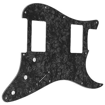 Brodroot Guitarra Pickguard,1pieza Golpeador con HH diseño panel de Guitarra Eléctrica Partes: Amazon.es: Instrumentos musicales