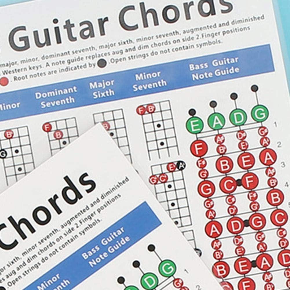 Diapasón de 4 cuerdas para guitarra bajo, escala, bajo, práctica y ...