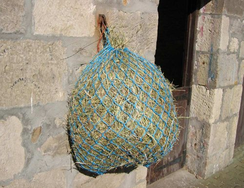 Shires 40'' Premium Poly Cord 2'' Hole Hay Net