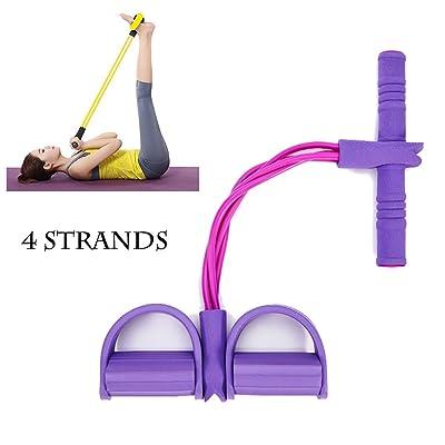 Haolong Homme et Femme–Home Fitness Bandes de résistance Yoga équipements de sport pour ventre Abdomen Taille Bras jambe d'exercice, multifonction jambe étirement minceur pour exercices