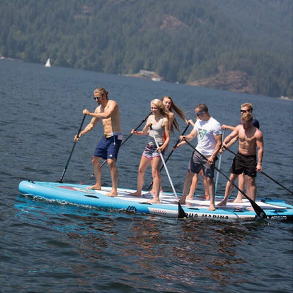 YONGMEI Grupo Tablero Multijugador Gigante Sup Paddle Board Esquí acuático Surf Paddle, 216.5 * 59.8 * 7.9in (Color : Azul): Amazon.es: Deportes y aire ...