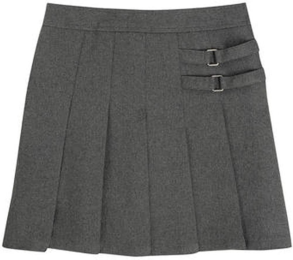 French Toast Girls' Two-Tab Pleated Scooter Skirt