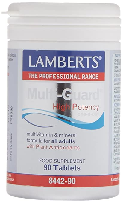 Lamberts Multiguard - Vitaminas, 90 Tabletas