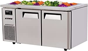JBT60 15 cu. ft. J Series-Buffet Display Table with Side Mount Compressor Unit Efficient Refrigeration System Hot Gas Condensate System High Density PU Insulation and Adjustable Shelves: Stainless Steel