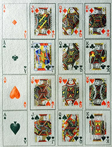 Royal Flush Edible Wafer Paper Sheet ~ Edible Playing Cards ~ BUY TWO GET THIRD FREE!