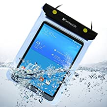 SumacLife Waterproof Pouch Dry Bag for Samsung Galaxy Tab 3 4 8.0inch Tablets / Samsung Galaxy Note 8.0 and other 8.0inch Tablets (Blue)