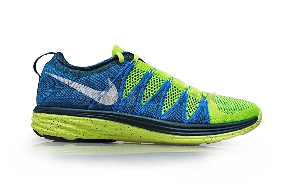 6fe79b93403d Nike Flyknit Lunar2 Mens Running Shoes 620465-714 Volt 9 M US  Buy Online  at Low Prices in India - Amazon.in