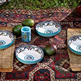 Euro Ceramica Zanzibar Collection Pasta Bowls, Set