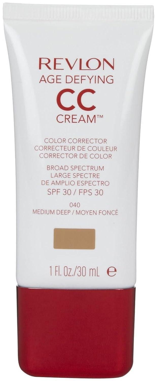 Revlon Age Defying CC Cream, Medium Deep/040, 1 Ounce 5860-04