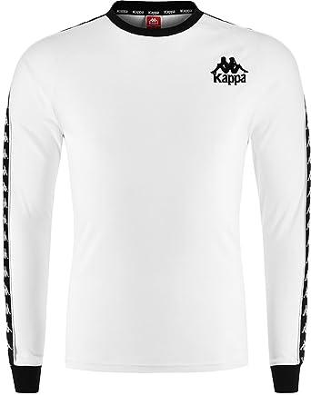 5ad14cd2 Kappa Women's Sweatshirt White White - White - Large: Amazon.co.uk ...
