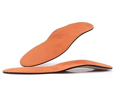 Plantillas Memory con pie plano valgo tapicería - soporte para el metatarso - acolchado para los talones y carbón activo z1776 (46) YKFJiUor