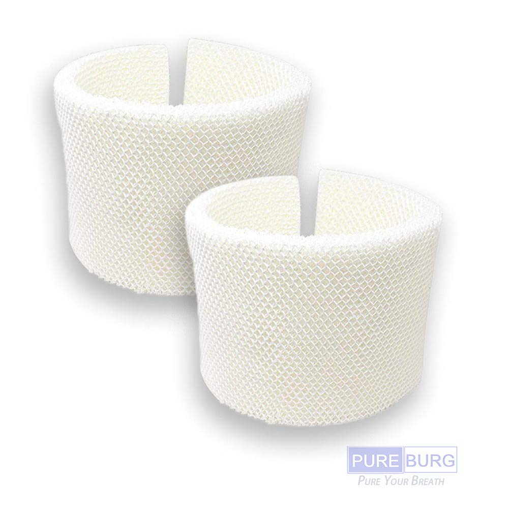 Pureburg 2 Pack Replacement Humidifier Wick Filter for Kenmore EF1 14906 42-14906 Emerson MAF1 MAF-1 Fits Kenmore 14410 14411 14906 15412 29979 29980 Emerson MA-0950 1200 1201 09500 12000 and More by Pureburg