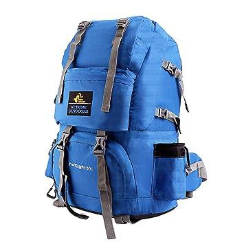 en soldes e85c7 c7b51 Issyzone 50L Sac à Dos de Voyage Sac à Dos de Camping/Randonée/Trekking