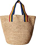 Loeffler Randall Women's Oversized Artisan Tote Natural/Rainbow One Size