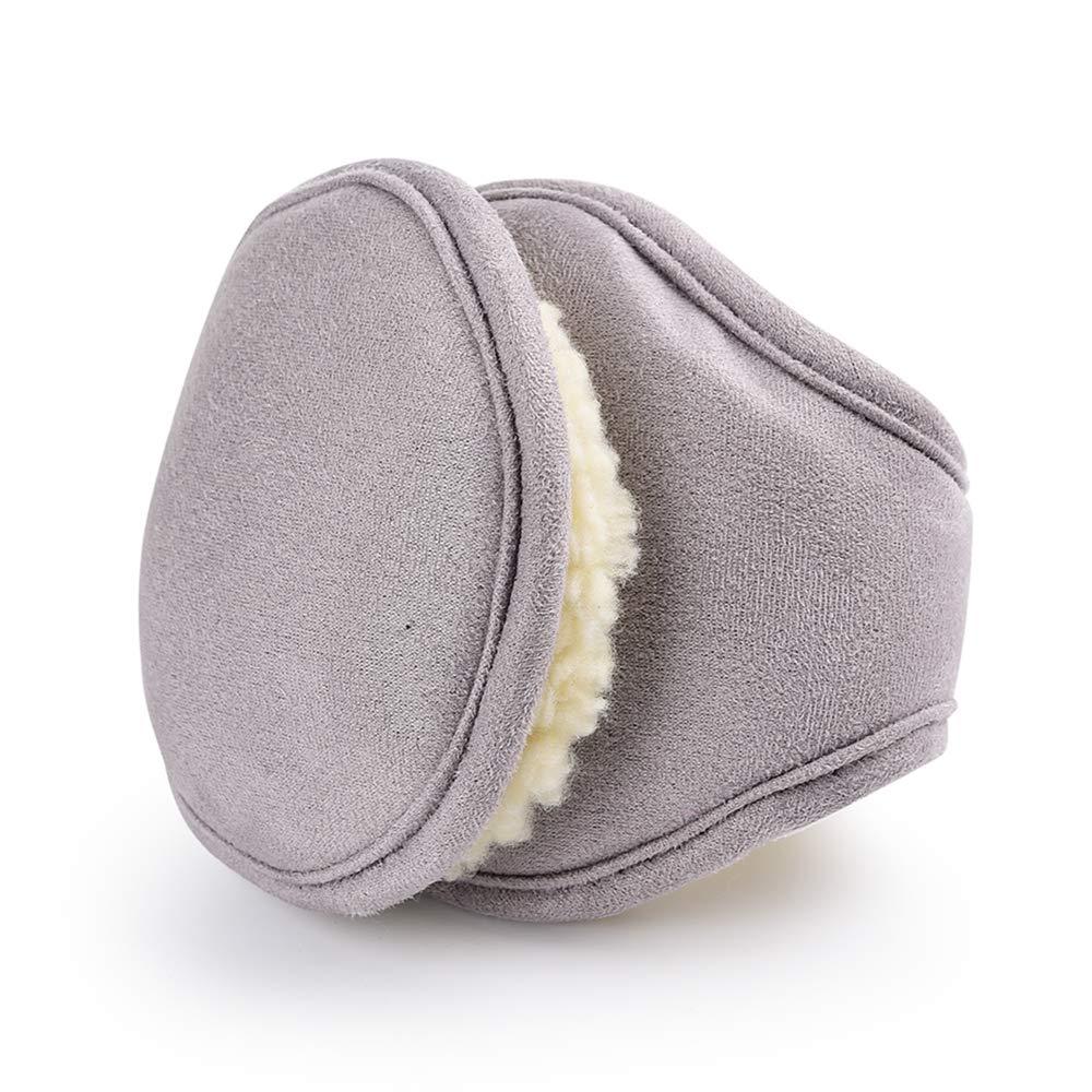 Furry Winter Foldable Big Ear Warmers Earmuffs Full Surround Ear Muffs for Men Women EW1