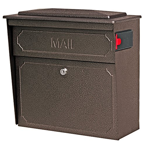 Mail Boss 7174 Townhouse Locking Security Wall Mount Mailbox