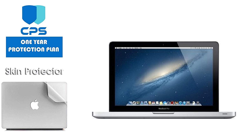 "Apple MacBook Pro MD101LL/A - 13.3"" Laptop Bundle - 2.5Ghz Intel i5, 16GB RAM, 512GB SSD, DVD Drive - (Bundle Includes: Pre-Applied Protective Skin + 1 Year CPS Limited Warranty) (Renewed)"