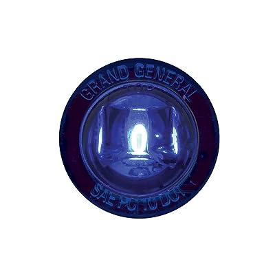 """GG Grand General 87285 Blue/Blue LED Light (1"""" Mini 1LED Push/Screw in): Automotive"""