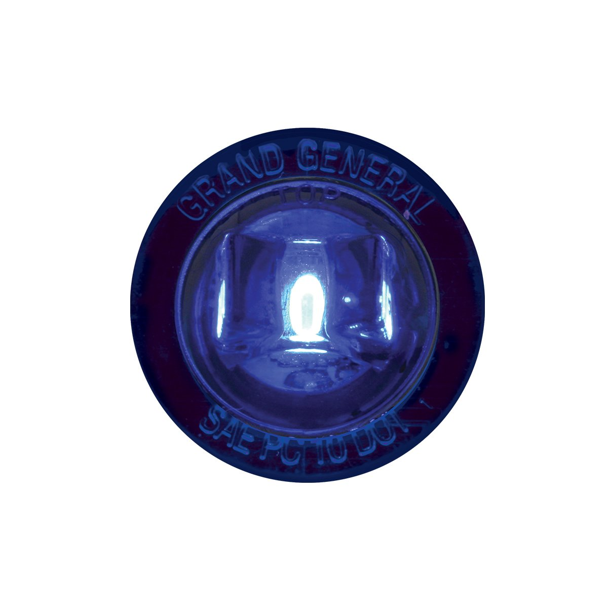 Sealed Light GG Grand General 75285 1 Inch Mini Blue 1Led Screw with Nut Dual Funt