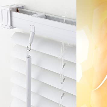 Fabulous PVC / Kunststoff-Jalousie Breite 180 cm x 160 cm Höhe in Farbe 01 HR57