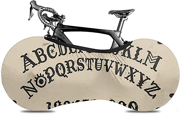 Funda para Bicicleta,Ouija Board Letter Cubiertas De Ruedas De ...