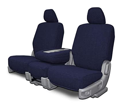 Exceptional Custom Seat Covers For Mazda 6 Sedan Front Low Back Seats   Navy Tweed