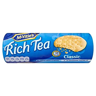Mcvities Classic Rich Tea Biscuits 200g Pack Of 6