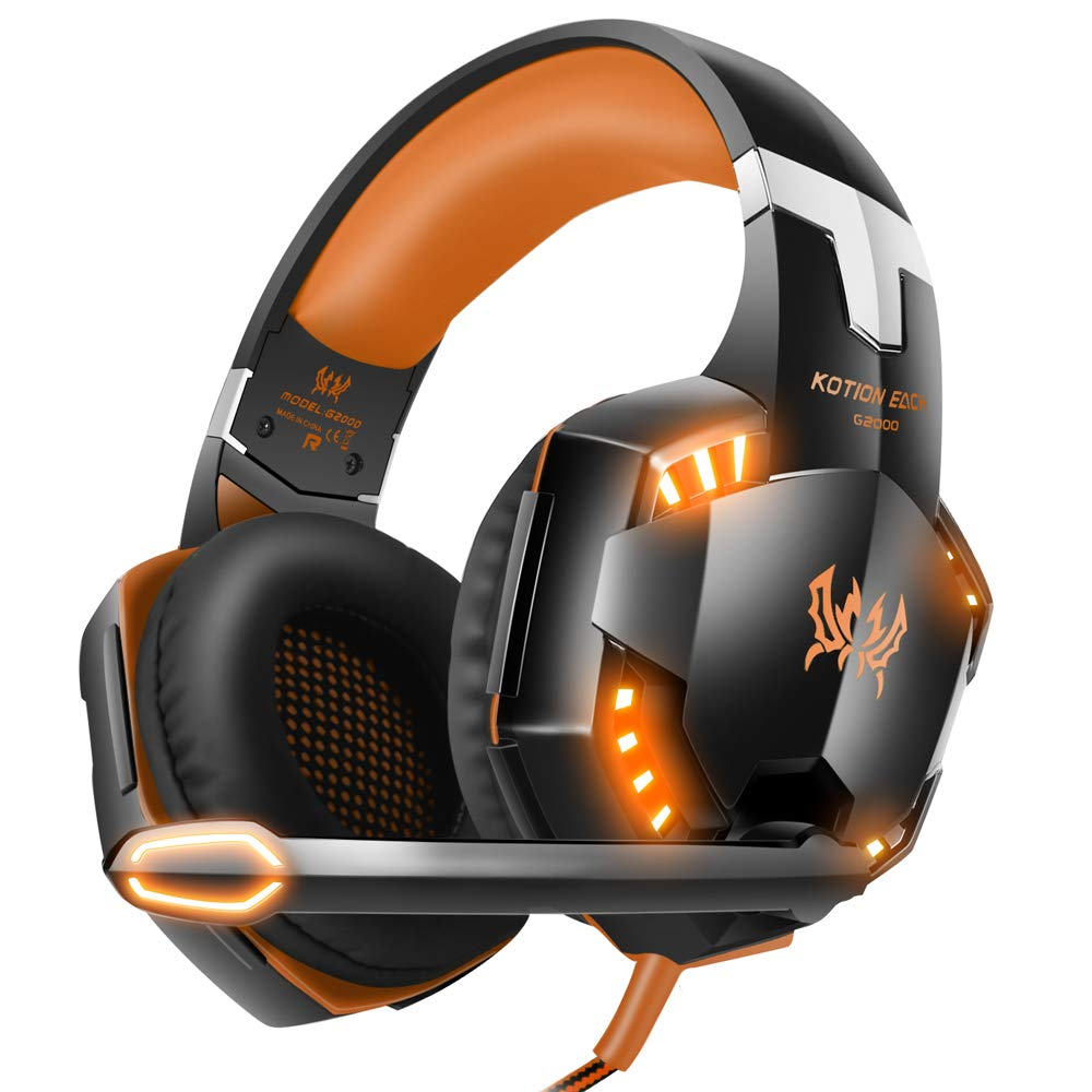 Auriculares VersionTech G2000 PC Gaming con luces Led (xmp)