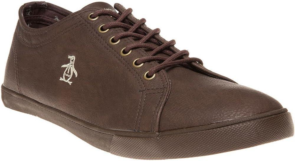 Penguin Brewton Mens Sneakers Brown