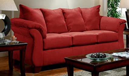 Merveilleux Chelsea Home Furniture Armstrong Sofa, Sensations Red Brick