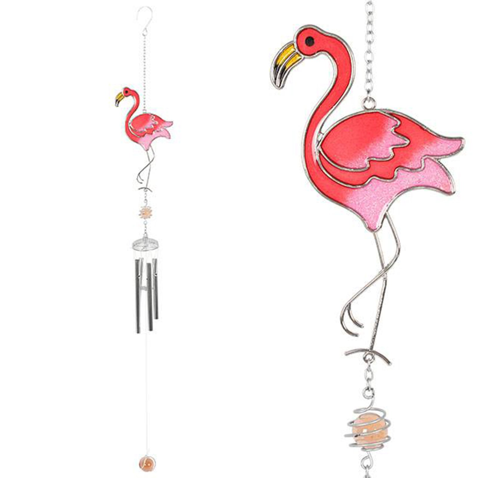 Jones Home & Gift Something Different Flamingo Wind Chime