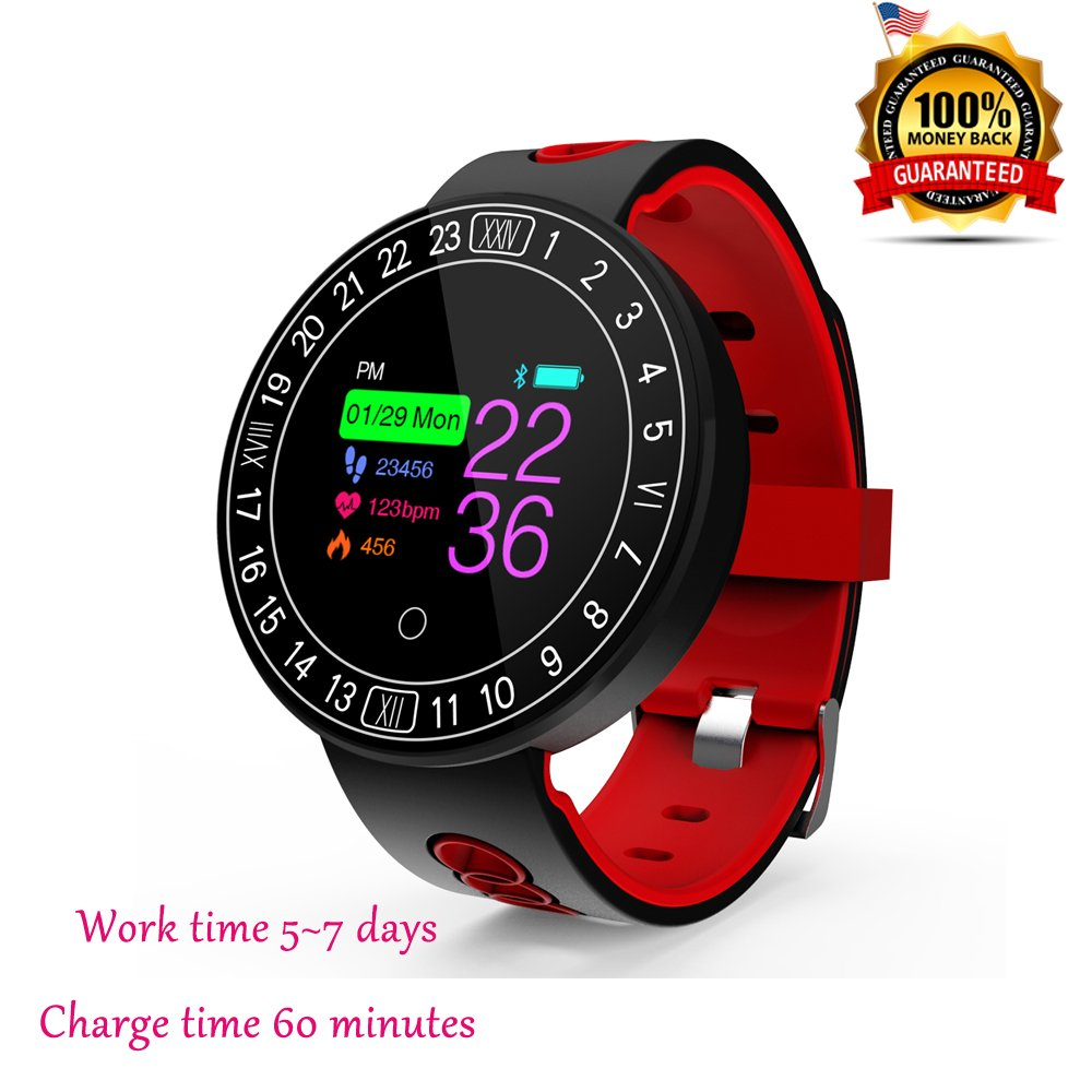Amazon com : wawpi Fitness Tracker, Health Monitor, Heart
