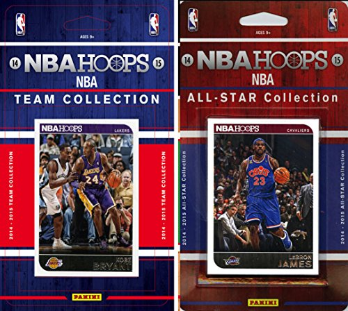 NBA Los Angeles Lakers Licensed 2014-15 Hoops Team Plus All-Star Set, Brown, One Size by C&I Collectables