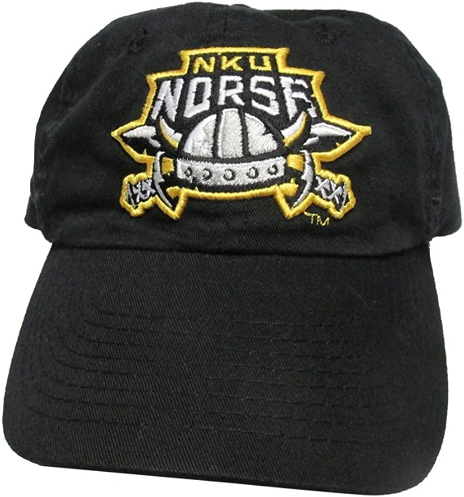 RobsTees Northern Kentucky University Norse Polo Style College Team Strap Back Dad Hat Cap
