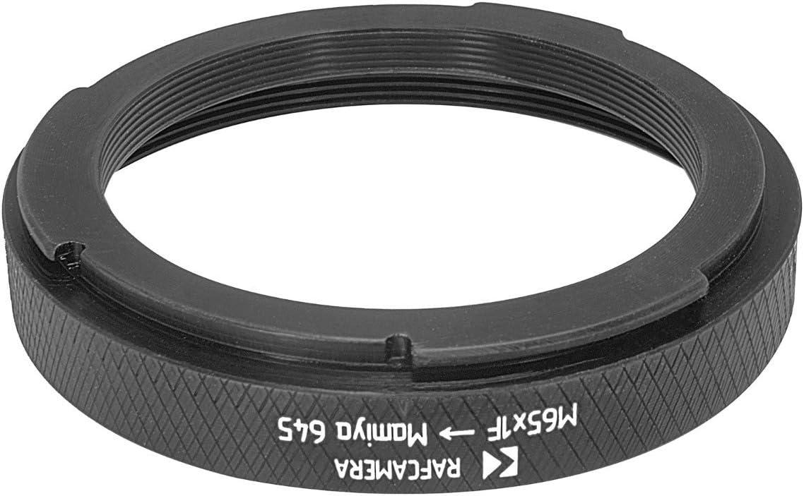 M65x1 Female Thread to Mamiya 645 Camera Mount Adapter