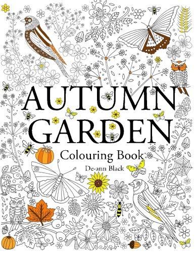 Autumn Garden: Colouring Book ()