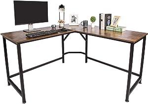 TOPSKY L-Shaped Desk Corner Computer Desk 59