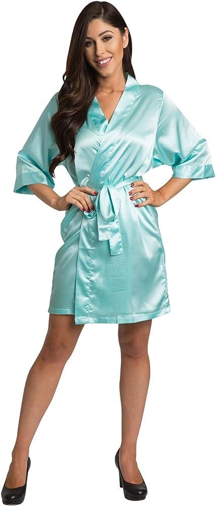 Robe Fluid Art Bride Robe Chiffon Knit Coverup Blue Pour Painting Art Bridesmaid Robe Spa Robe,Swimsuit Coverup Blue Kimono Robe