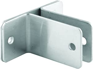 Sentry Supply 650-8133 Two Ear Wall Bracket, for Panel size 1/2 inch, Stamped Stainless Steel, Pack of 1