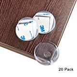 Corner Protectors Furniture Corner Guards Olycism Table Corner Cover[20 pack]Baby Caring Sharp Corners Children Proof Corner Safety Bumpers Ball Shape Clear High Resistant Adhesive Gel Thicker Bigger[2017 New]