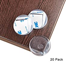 Corner Protectors Furniture Corner Guards Olycism Table Corner Cover[20 pack]Baby Caring Sharp Corners Children Proof Corner Safety Bumpers Ball Shape Clear High Resistant Adhesive GelThicker Bigger[2017 New]