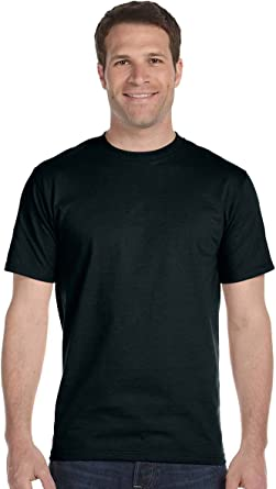 Bulk Packaging Hanes Classic Mens White Crew Neck T-Shirt P6