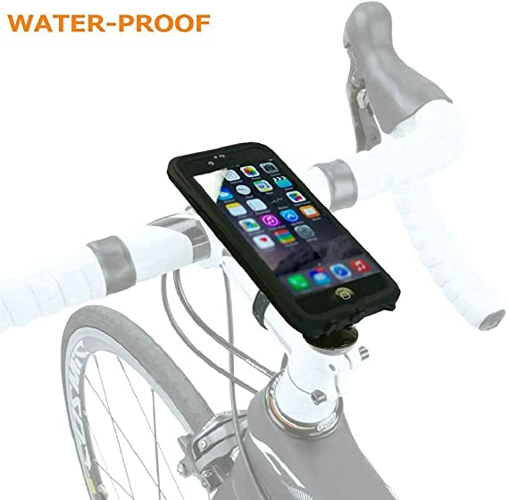 """44257 and More Pixel Car Headrest Motorcycle Nokia Galaxy Fits Most iPhones Uber Bike Phone Mount for Smart Phones 4/"""" to 5.7/"""" Shopping Cart Silicone Handle Bar Mount for Bicycle Stroller"""