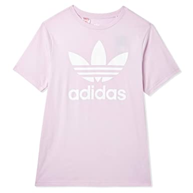 adidas niña Trefoil – Camiseta: Amazon.es: Ropa y accesorios