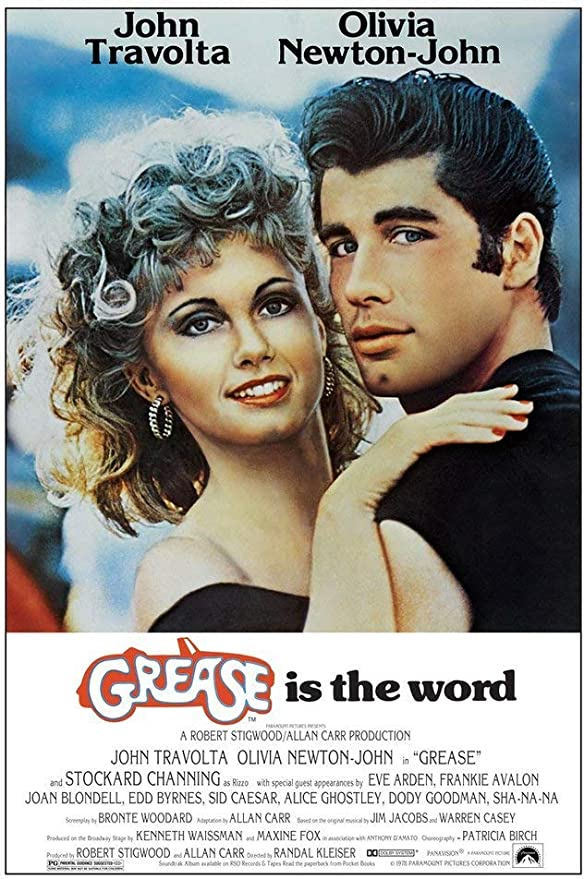 Yutirerly Movie Poster Grease 27in x 40in (Movie Theatre Size) Olivia Newton John - John Travolta: Amazon.es: Hogar