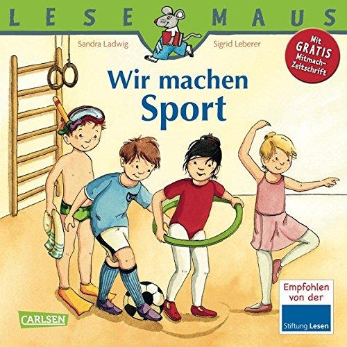 LESEMAUS, Band 39: Wir machen Sport