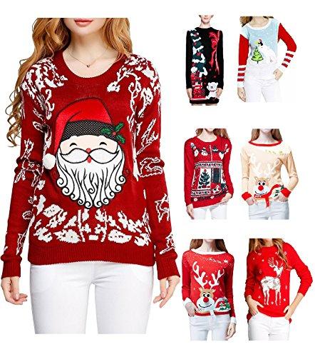 Cute Santa Embroidered