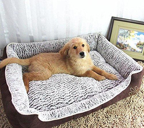 Cama Extra Grande de Lujo Algodón de Memoria Suave y Cómodo para Perros Gatos Todos los Tamaños Como Imagen: Amazon.es: Productos para mascotas